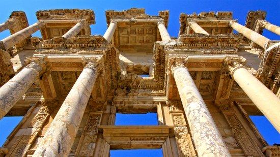 The Ruins at Ephesus Turkey